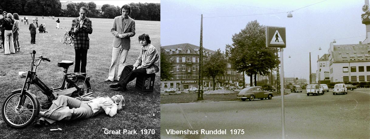 Bike park & roundabout