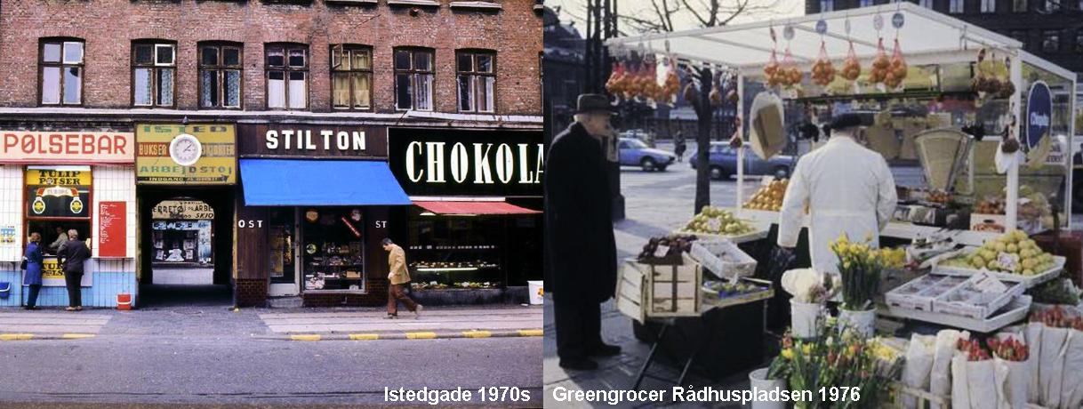 Food Shops 1970s