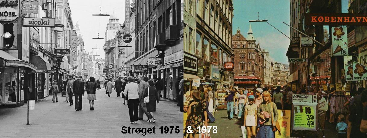 Strøget 1975 & 1978